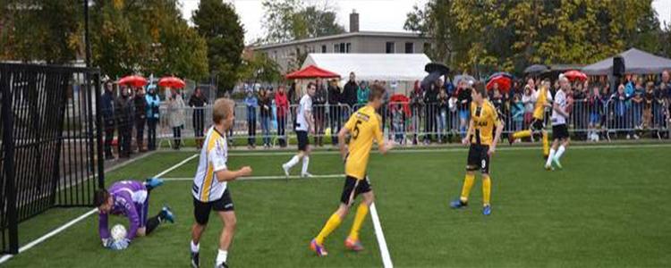สนามฟุตบอล Scholen Hagewind แห่งใหม่ที่ใส่ใจกันมากยิ่งขึ้น